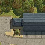 Cold Harbour Farm - Heathfield - Aerial View Visual - Crop