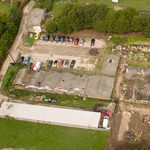 Cold Harbour Farm - Heathfield - Aerial View - Before - Crop