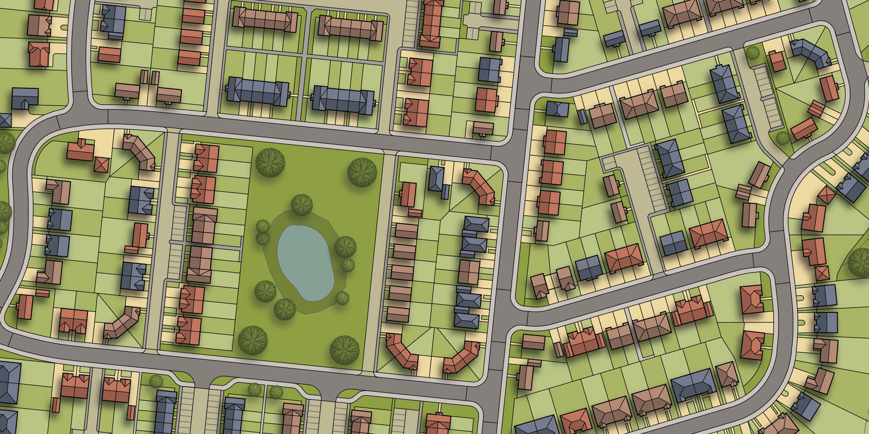 Site Plan – 376 New Homes - Horsham 01