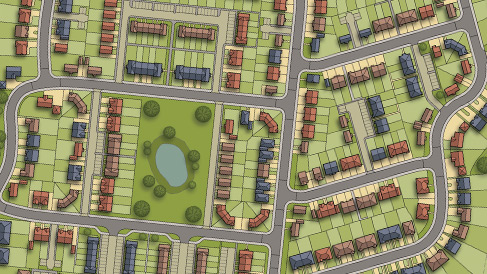 Site Plan – 376 New Homes - Horsham
