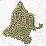 Site Plan – 376 New Homes - Horsham 02 - Crop